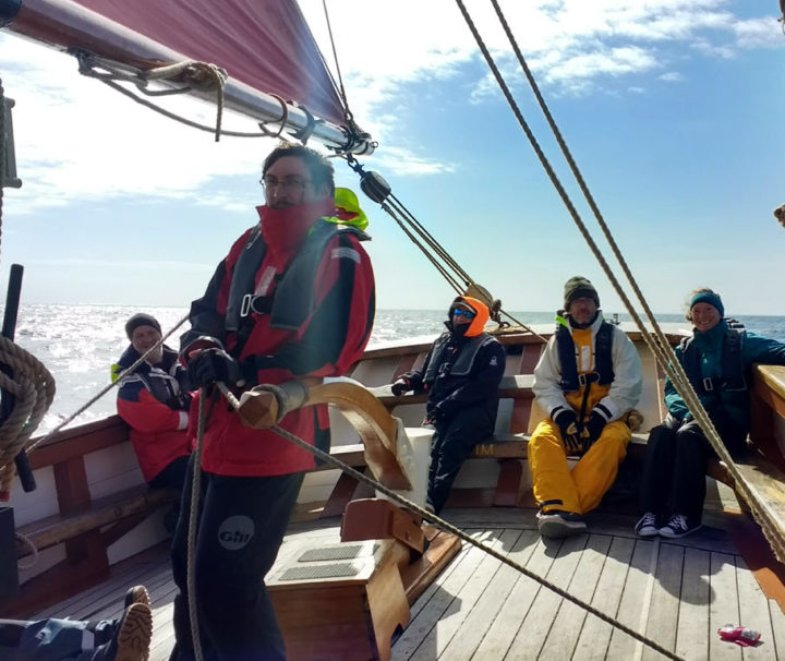Devon Coast Sailing Day