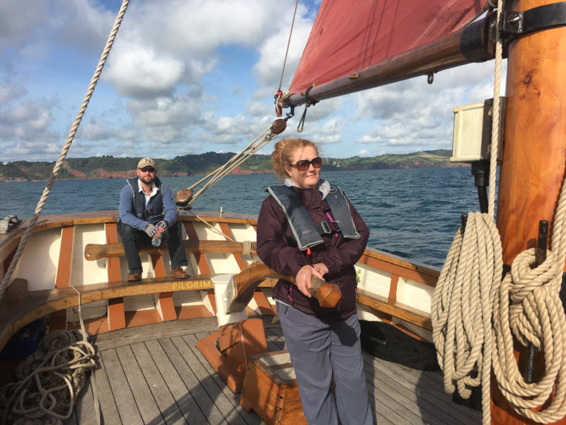 Historic Sailing Trawler Trip