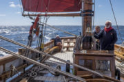 Morning Sailing Trawler Cruise