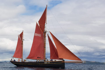 Sailing Trawler Day Sail