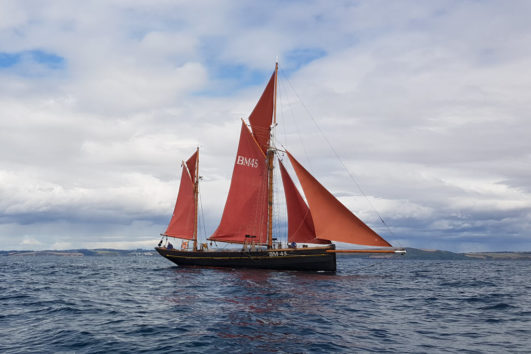 Pilgrim Half day at sea