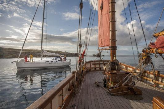 Pilgrim BB sailing