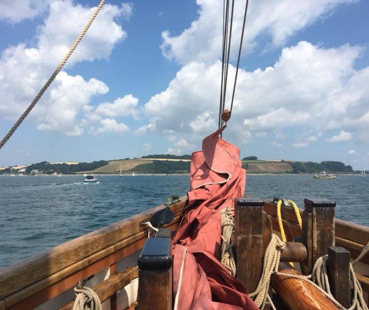 Approaching Falmouth