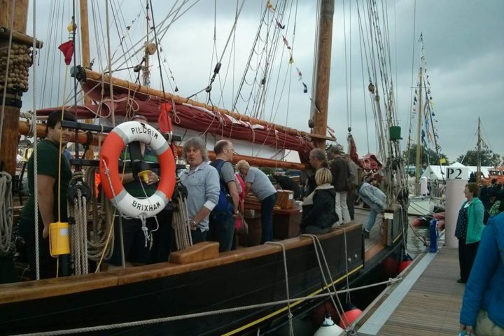Pilgrim Open Day Yarmouth IOW