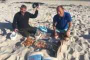 Pilgrim beach barbecue