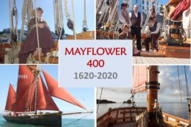 Mayflower 400 in Plymouth