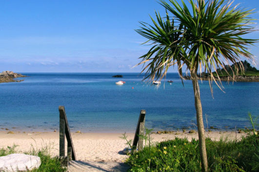 Scilly Isles beach