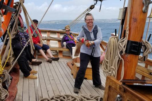 Autumn Devon Day Sailing