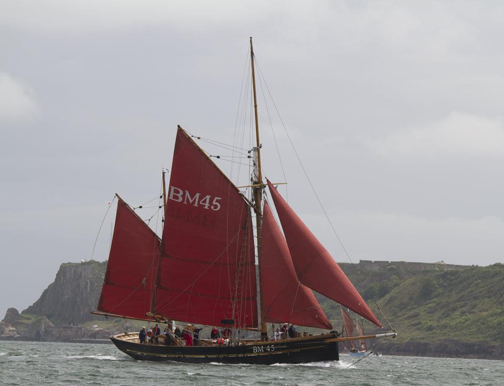 Brixham Trawler Sailing Day