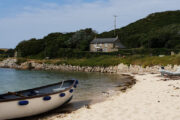 Tresco beach on the Scilly Isles