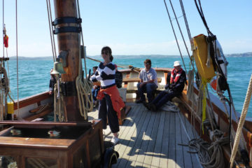 Devon Traditional Sailing Holiday