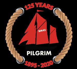 Pilgrim's 125th Anniversary logo