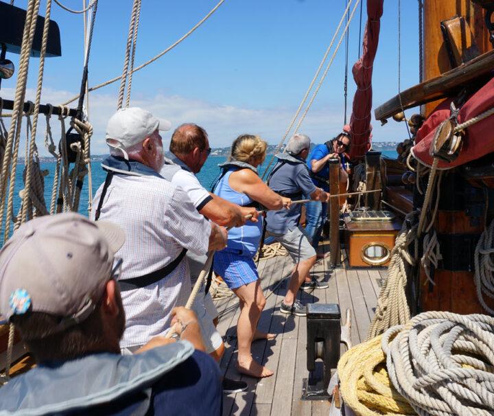 Devon Coast Sailing Day